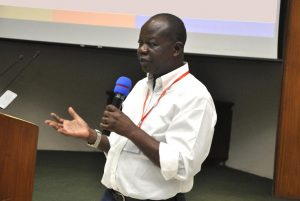 Picture of Victor Manyong highlights IITA's pivotal role in poverty reduction in sub-Saharan Africa.