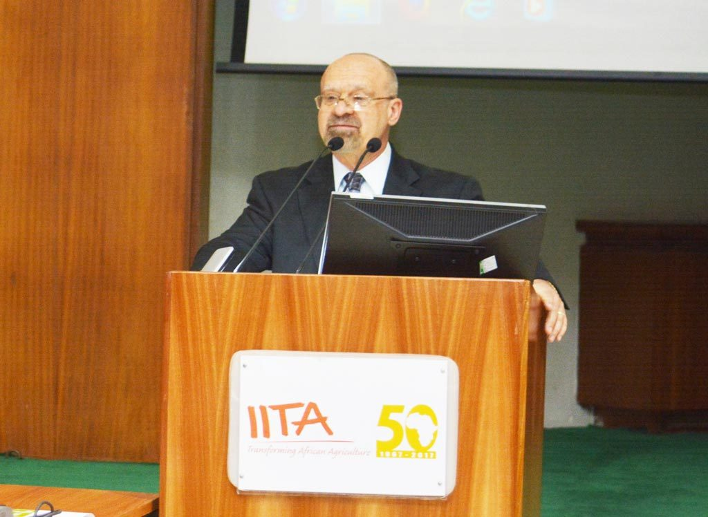 Picture of Kenton Dashiell, IITA Deputy Director General, Partnerships for Delivery