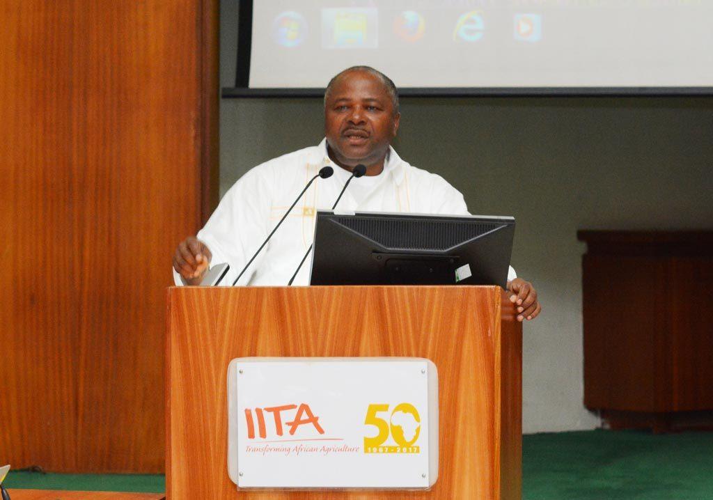 Picture of IITA Director General, Dr Nteranya Sanginga