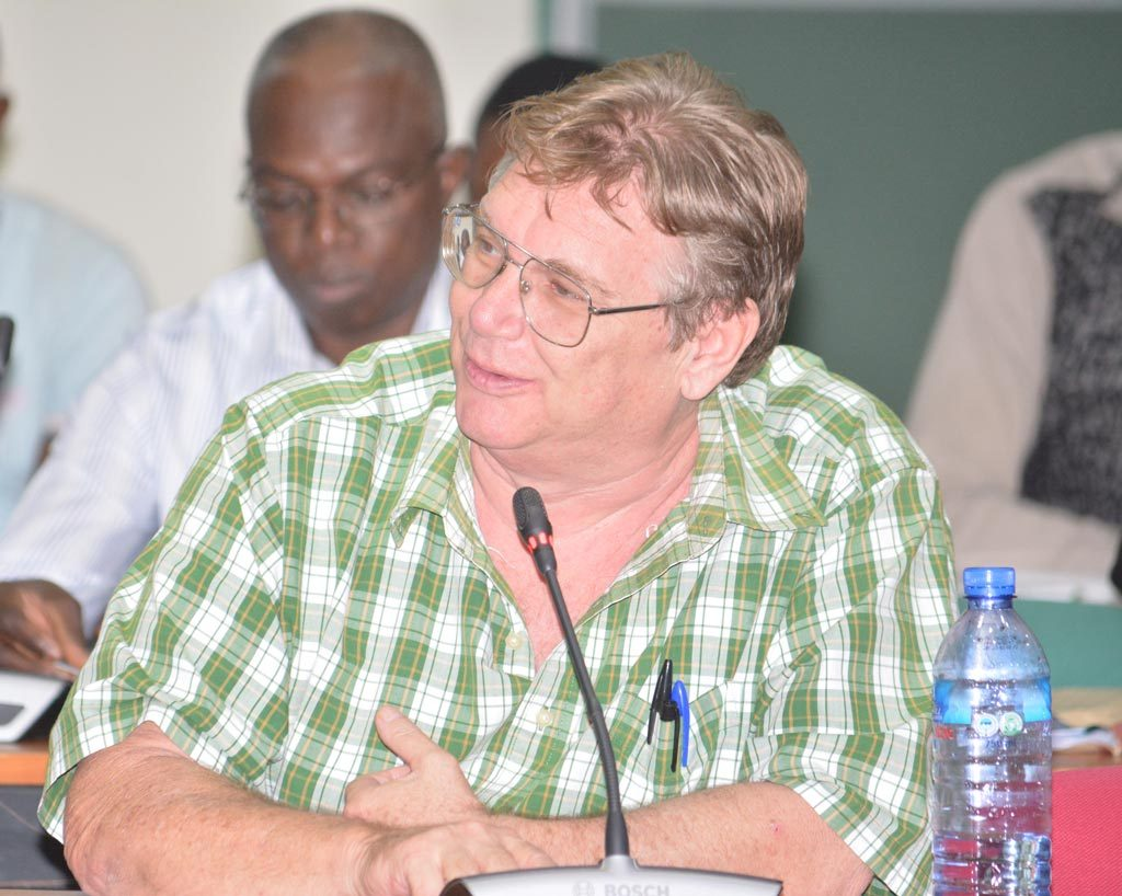 Picture of Paul Woomer, IITA Consultant