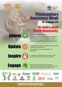 Phytosanitary Awareness Week poster