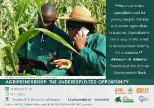 Poster of Agripreneurship - The Underexploited Opportunity