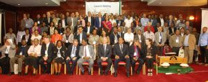 Picture of Participants at the GLDC launch come together for a group photograph