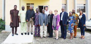 CSIS and IITA representatives in a group photo