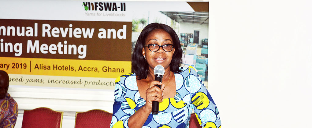 YIIFSWA-II hosts 3rd Annual progress review  and planning meeting in Accra