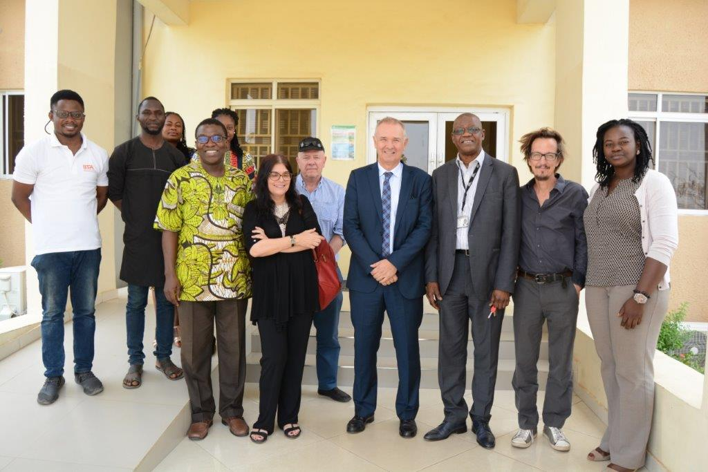 French delegation explores agribusiness collaboration with IITA Abuja