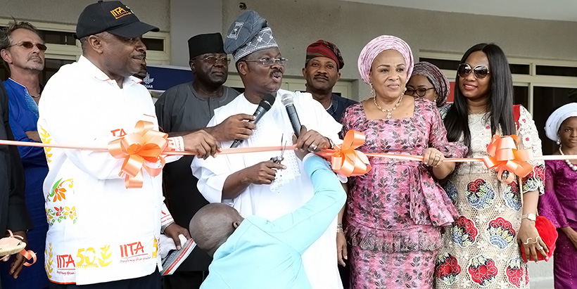 Oyo Governor commissions IITA Projects