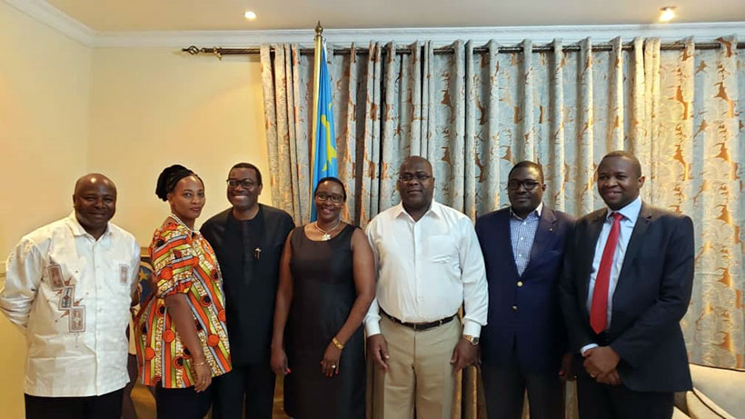 IITA Director General Nteranya Sanginga meets DRC President in Kinshasa this week