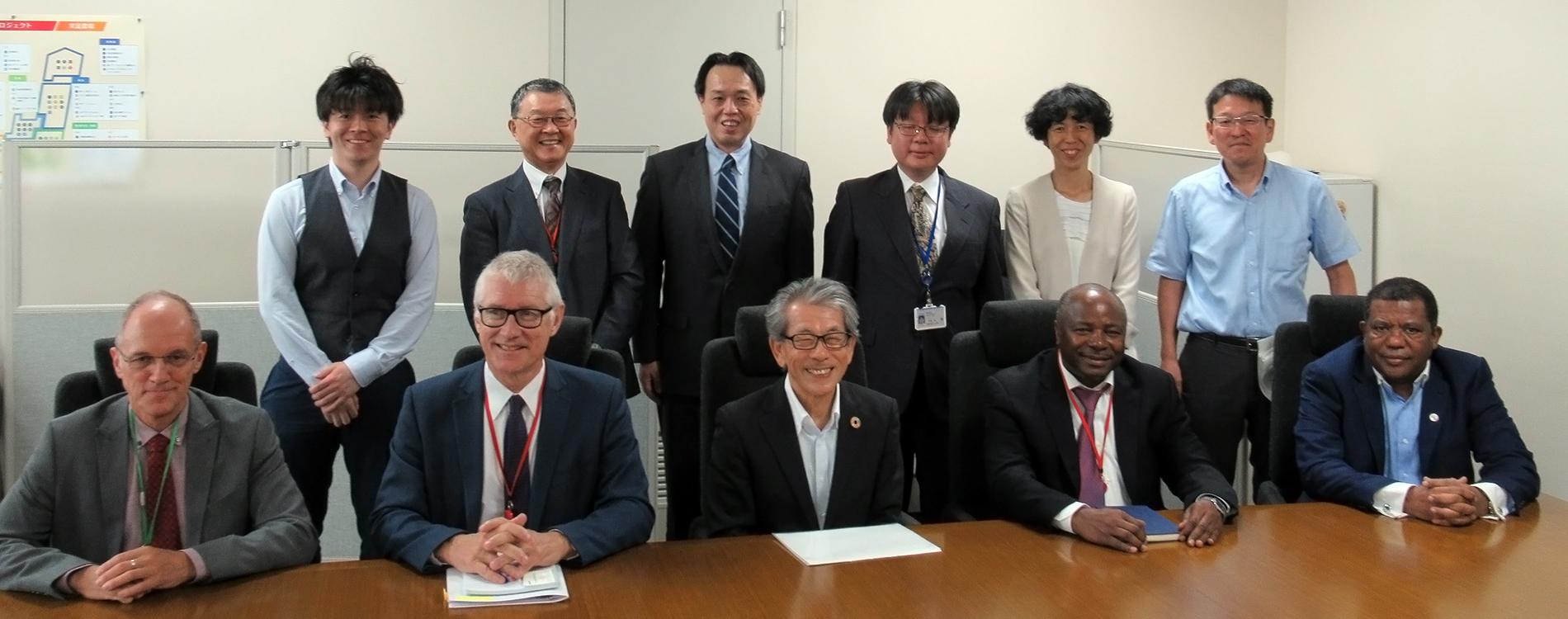 IITA participates in TICAD 7 in Japan