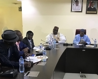 ADWG presents policy brief to new Agriculture Minister in Nigeria