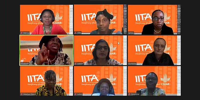IITA News: 8 - 12 February 2021 (No. 2575) - IITA seeks to build more female scientists and leaders
